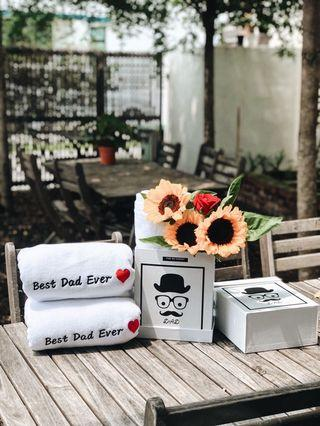 Father's Day Towel Gift Set