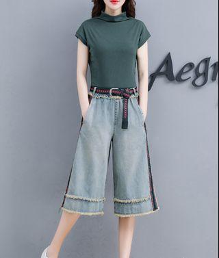 """💌#1306_💌Top + pants"