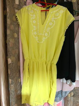 New Yellow Romper