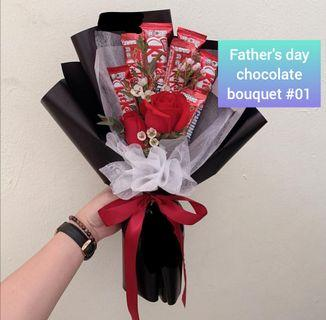 Father's Day Chocolate Bouquet #01