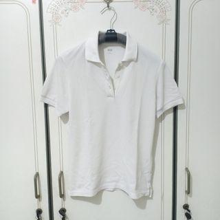 Uniqlo White Polo