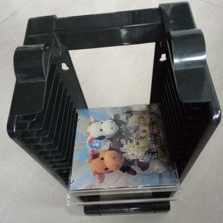 Free standing CD, VCD, DVD Holder 30cm height
