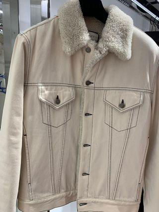 🚚 💯% Authentic Gucci Full Shearling Jacket