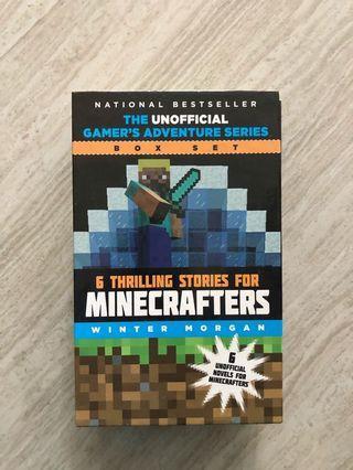 🚚 Minecraft Book set