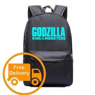 Godzilla Backpack Fashion Bag School