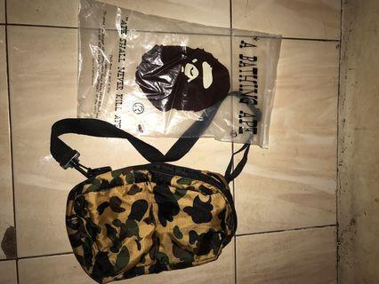 Bape Sling Bag BNIP