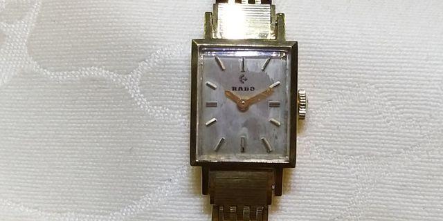 古董RADO上鏈錶