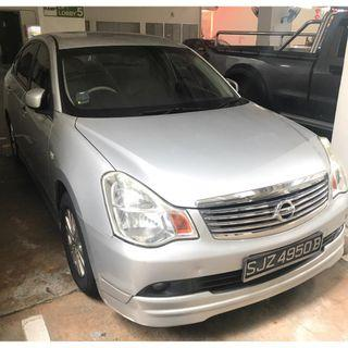 2010 NISSAN SYLPHY 1.5L 4AT ABS D/AB 2WD 4DR Grab/Personal Use