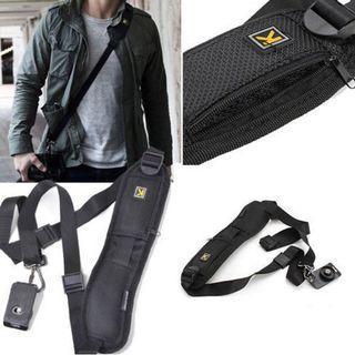 Portable Single Shoulder Sling Belt Strap for camera Quick Rapid Quick Adjustment for DSLR Digital SLR Camera