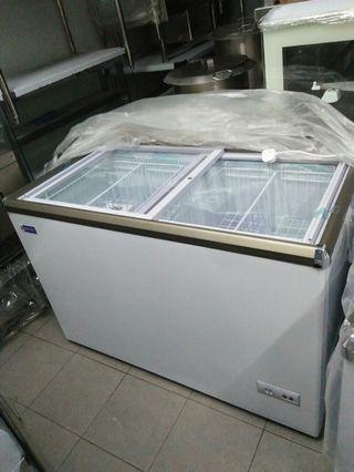 Sliding door chest Freezer
