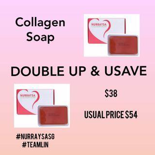 Nurraysa Double Collagen Soap & Save