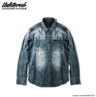 🚚 Chuse Denim Shirt 牛仔襯衫 水洗 單寧襯衫