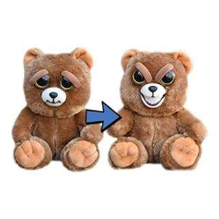 BRAND NEW Authentic Feisty Pets Animals Evil Grin Bear Sir Growls A Lot Stuffed Soft Toy Angry Cute Face
