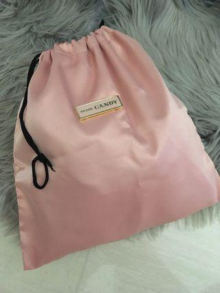 Prada Candy pouch bag pink