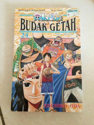 One Piece Budak Getah 24