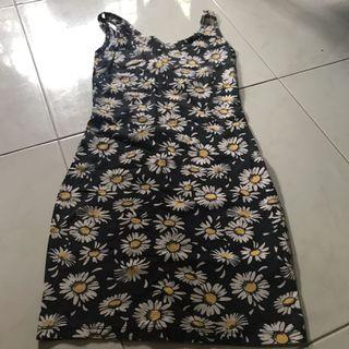 🚚 Sunflower Floral Dress