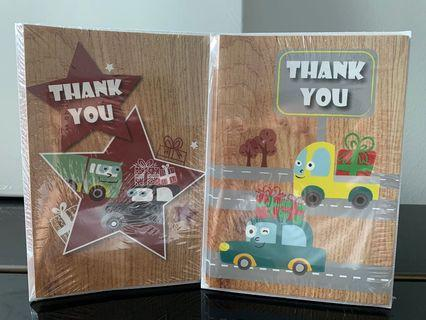 Thank You Card Set (2 packs)