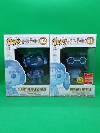 Funko Pop! Moaning Myrtle and Nearly Headless Nick