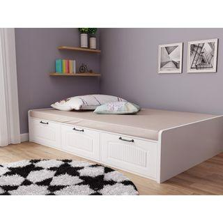 🚚 Tatami bed frame + mattress(50mm) with drawers