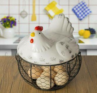 Chicken Egg Storage Basket