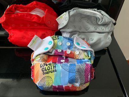 AUTHENTIC BumGenius All-in-One Cloth Diapers