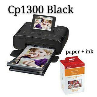 Bundle Cp1300 printer and paper and ink