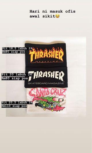 Thrasher Santa cruz