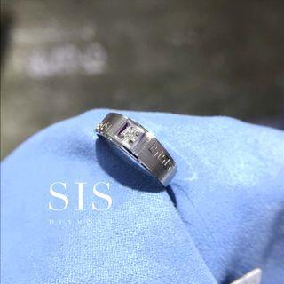 SIS Diamond 男戒 對戒 父親節禮物 18K 鑽石