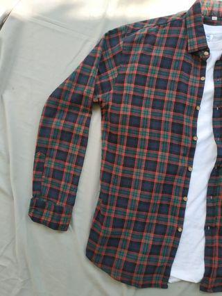 Kemeja flannel premium