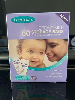 🚚 Lansinoh Breastmilk Storage Bags (50pcs)