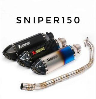 SNIPER150 Exhaust Full System