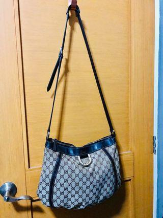 Auth Gucci Bag with free bag