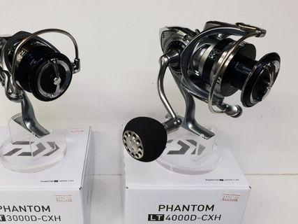 (The Just & 2019 New Release Mid High-End SPINNING Reel In Place.!!! :- The 'DAIWA' US Version & Just Launch for S.E.A.!!).=  (A-2). 'Daiwa'-19 PHANTOM LT 4000D-CXH-RK.(Reel Wt: 265g, Gear ratio: 6.2:1, Max drag: 12kg).