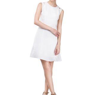 Skeleton Blossom Dress 優雅白色Lace One Piece連身裙