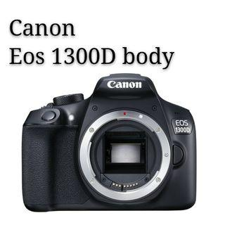 Canon eos 1300D body display