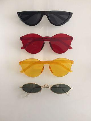 Sunglasses fashion atau kacamata gaya (TAKE ALL 100k)