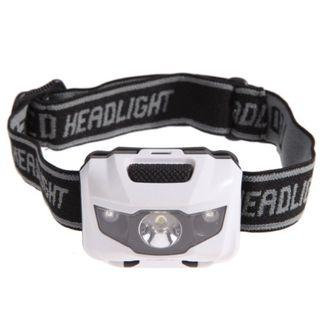 【暉長豪商行】貓眼頭燈 headlamp 防水LED 體積小燈光強 白光照明 頭戴手電筒 騎行頭戴燈 夜騎夜釣登山露營 頭戴燈 綁頭燈 白色