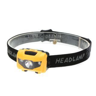【暉長豪商行】貓眼頭燈 headlamp 防水LED 體積小燈光強 白光照明 頭戴手電筒 騎行頭戴燈 夜騎夜釣登山露營 頭戴燈 綁頭燈 黃色