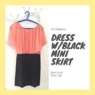 Dress for party lounge hangout baju cewe