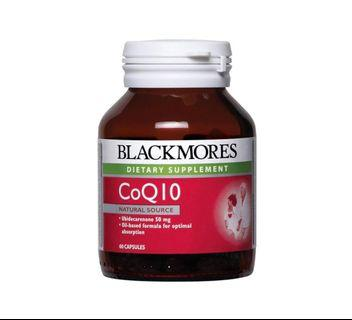 *Brand New & Sealed* Blackmores CoQ10 50mg 60 capsules