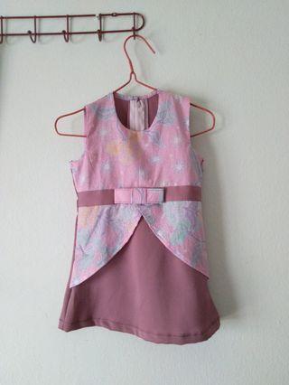 Baby Girl Batik Pastel Dress