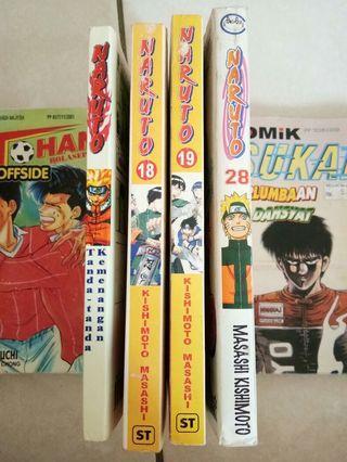 Naruto (3 jenis komik)