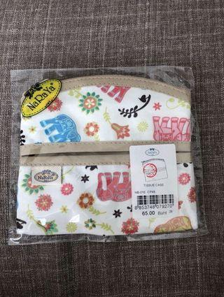 Authentic Naraya tissue case + pouch (2in 1)