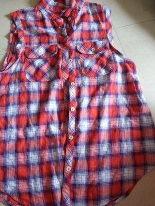 Checkered ladies  Shirt