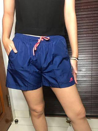 Blue Shorts Gym