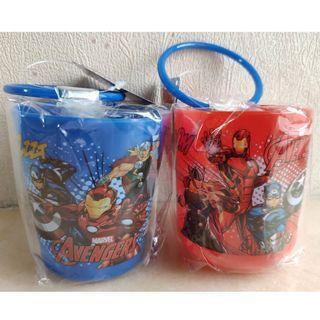 Marvel Avengers 復仇者聯盟 水杯2隻