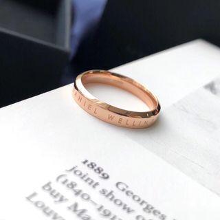 Dw rings 戒指