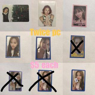 TWICE major sale clearance cheap WTS page 2 dtna summer nights fancy what is love wil tsb the story begin twicelight photocards pc candy bong z pc : $1 ~ $5 sale