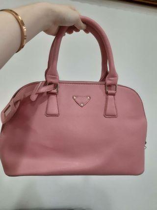 🚚 全新粉色手提包