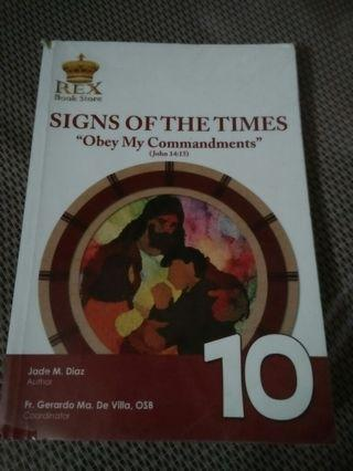 Signs of the Times - Grade 10 BOOKS